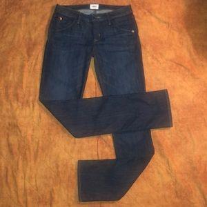 Hudson Jeans Carly Straight 14.5 Leg 27 MSRP $189